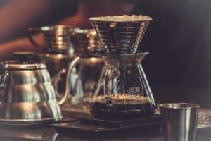 Normaler Kaffee - Zubereitung Filterkaffee