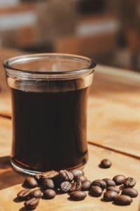 Mokka oder auch kleiner Schwarzer genannt - Urkaffee Mocca